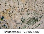 Desert Sands And Brush Viewed...