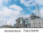 paper mill | Shutterstock . vector #734170999
