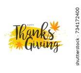 illustration greeting card... | Shutterstock .eps vector #734172400