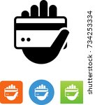credit icon | Shutterstock .eps vector #734253334