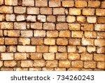 brick wall     Shutterstock . vector #734260243