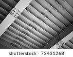 abstract steel construction...   Shutterstock . vector #73431268