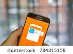 montreal  canada   october 2 ... | Shutterstock . vector #734315158