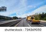 large freight truck on highway