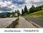 st. wolfgang im salzkammergut ... | Shutterstock . vector #734369470