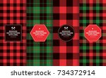 Christmas Lumberjack Seamless...