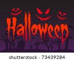 halloween | Shutterstock .eps vector #73439284