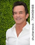 Small photo of LOS ANGELES, CA - August 01, 2017: Jeff Probst at CBS TV's Summer Soiree at CBS TV Studios