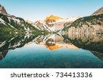 Sunrise Of Snowmass Mountain I...