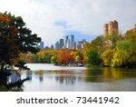 new york city manhattan central ... | Shutterstock . vector #73441942