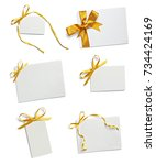 close up of a greeting card... | Shutterstock . vector #734424169