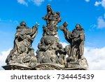 Prague  Czech Republic  Statues ...