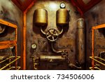 The Room In Vintage Steampunk...