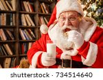 Santa Claus In The Library...