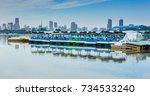 boat | Shutterstock . vector #734533240