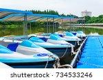 boat | Shutterstock . vector #734533246