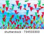 flags | Shutterstock . vector #734533303