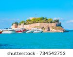 """pigeon island with a """"pirate... 