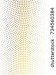 light blue  yellow illustration ... | Shutterstock . vector #734560384