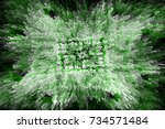 color abstract grunge... | Shutterstock . vector #734571484