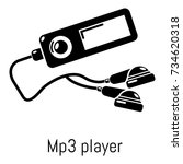 mp3 player icon. simple...