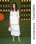 Small photo of Abigail Spencer at the 8th Annual Veuve Clicquot Polo Classic held at the Will Rogers State Historic Park in Pacific Palisades, USA on October 14, 2017.