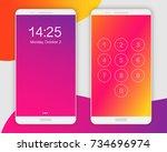 smartphone screen ui  ux...