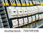 control cable | Shutterstock . vector #734749198