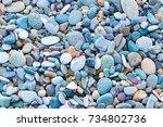 Colourful Pebble Texture