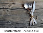 Cutlery Set Fork Spoon And...