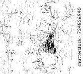 grunge background black and... | Shutterstock .eps vector #734826940