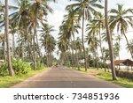 Coastal Highway  Marawila  Sri...