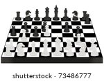 vector illustration of chess... | Shutterstock .eps vector #73486777