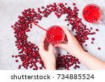 Cranberry Mors With Berries....