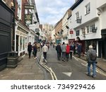 york   october 15  2017 ... | Shutterstock . vector #734929426