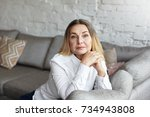 people  lifestyle  leisure time ...   Shutterstock . vector #734943808