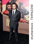 """Small photo of LOS ANGELES, CA - June 14, 2017: Edgar Wright at the Los Angeles premiere for """"Baby Driver"""" at the Ace Hotel Downtown."""