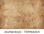 old paper texture | Shutterstock . vector #734966314