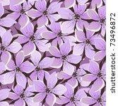 seamless background gently... | Shutterstock .eps vector #73496872