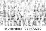 braided basket texture... | Shutterstock .eps vector #734973280