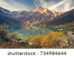 tatra mountains | Shutterstock . vector #734984644
