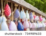 Colorful Handmade Toys In The...