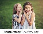 Little Pretty Girls Having Fun...