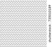 geometric abstract. herringbone ... | Shutterstock .eps vector #735010189