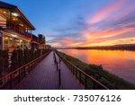 Chiang Khan Thailand 14 June...