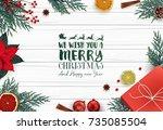 vector illustration of... | Shutterstock .eps vector #735085504