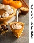 Sweet Pumpkin Pie Slice...