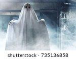 ghost | Shutterstock . vector #735136858