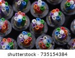 Small photo of Fibre Optic Cable Construction Closeup