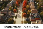 Aerial Drone Image Of Suburbia...
